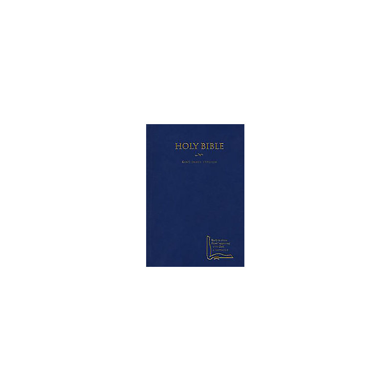 KJV Drill Bible, Blue Hardcover