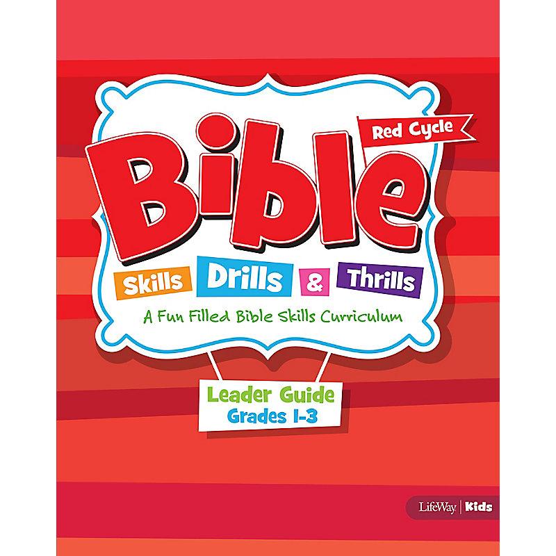 Bible Skills, Drills, & Thrills: Red Cycle - Grades 1-3 Leader Kit