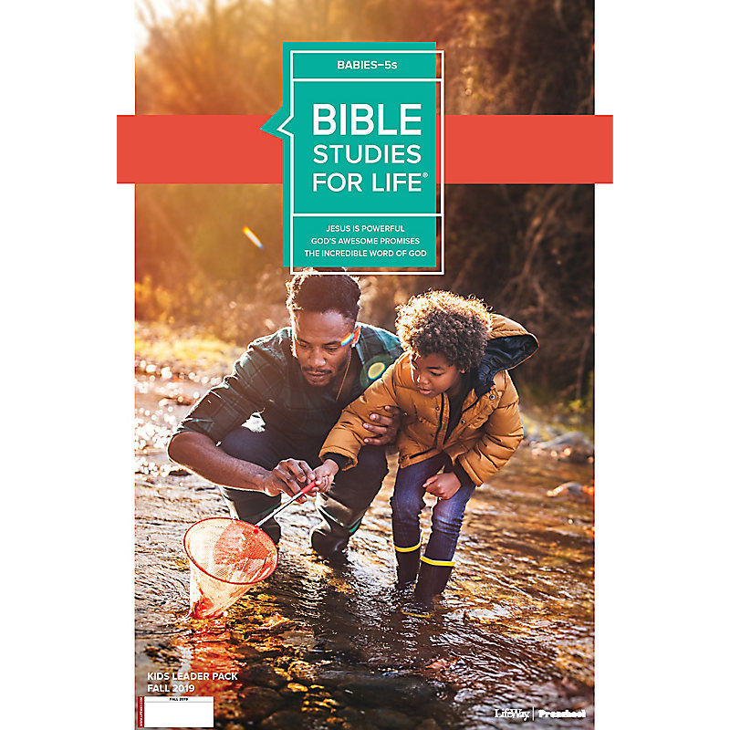 Bible Studies For Life: Babies-5s Leader Pack Fall 2019