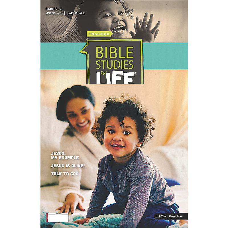 Bible Studies For Life: Babies-5s Leader Pack Spring 2019