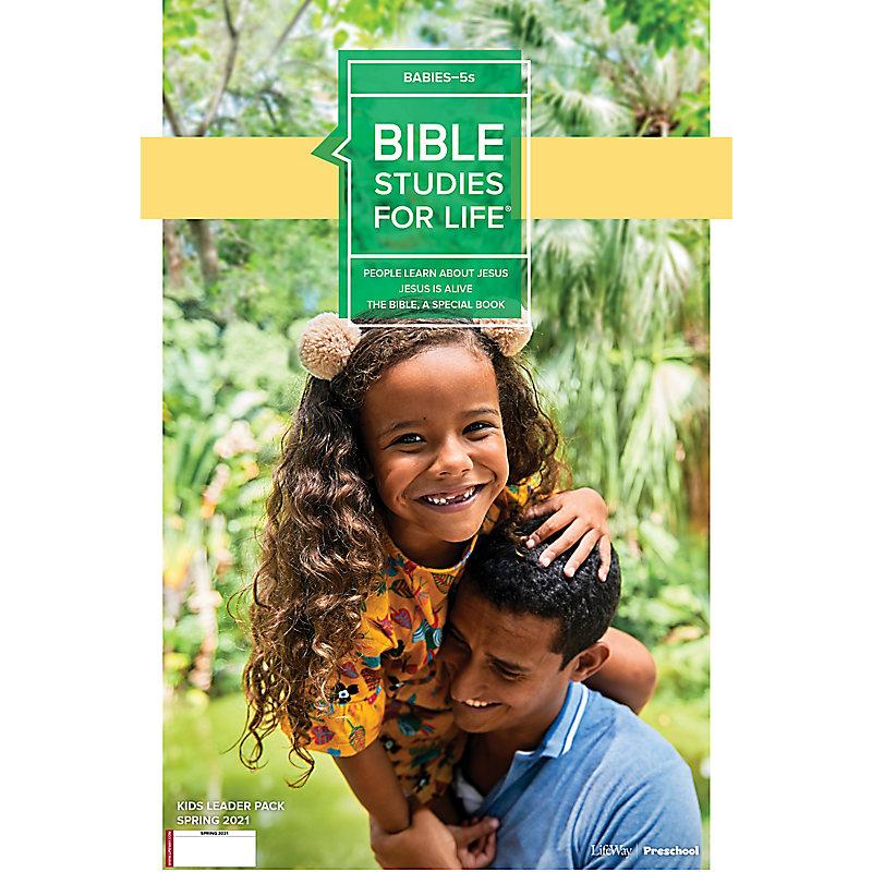 Bible Studies for Life: Babies-5s Leader Pack Spring 2021