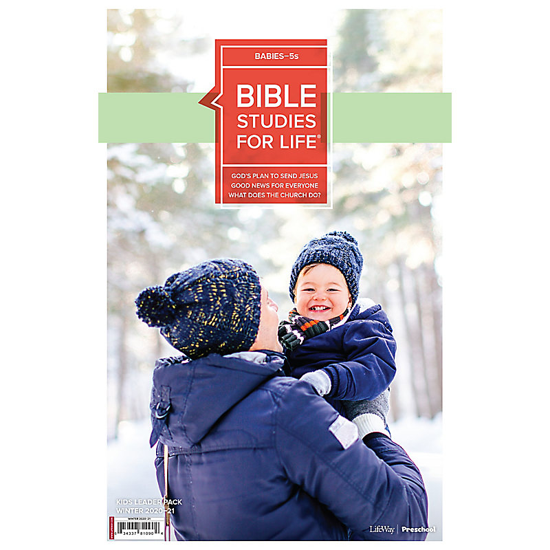 Bible Studies for Life: Babies-5s Leader Pack Winter 2021