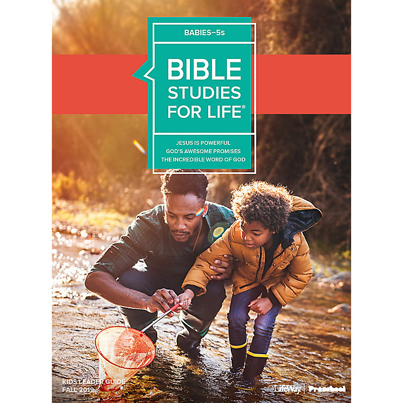 Bible Studies For Life: Babies-5s Leader Guide Fall 2019