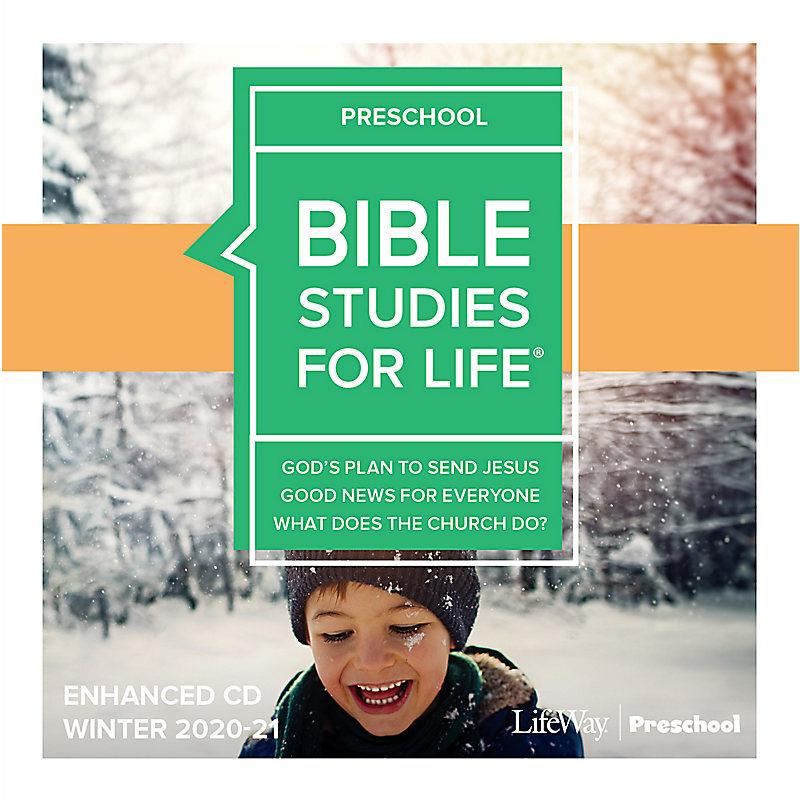 Bible Studies for Life: Preschool Enhanced CD Winter 2021