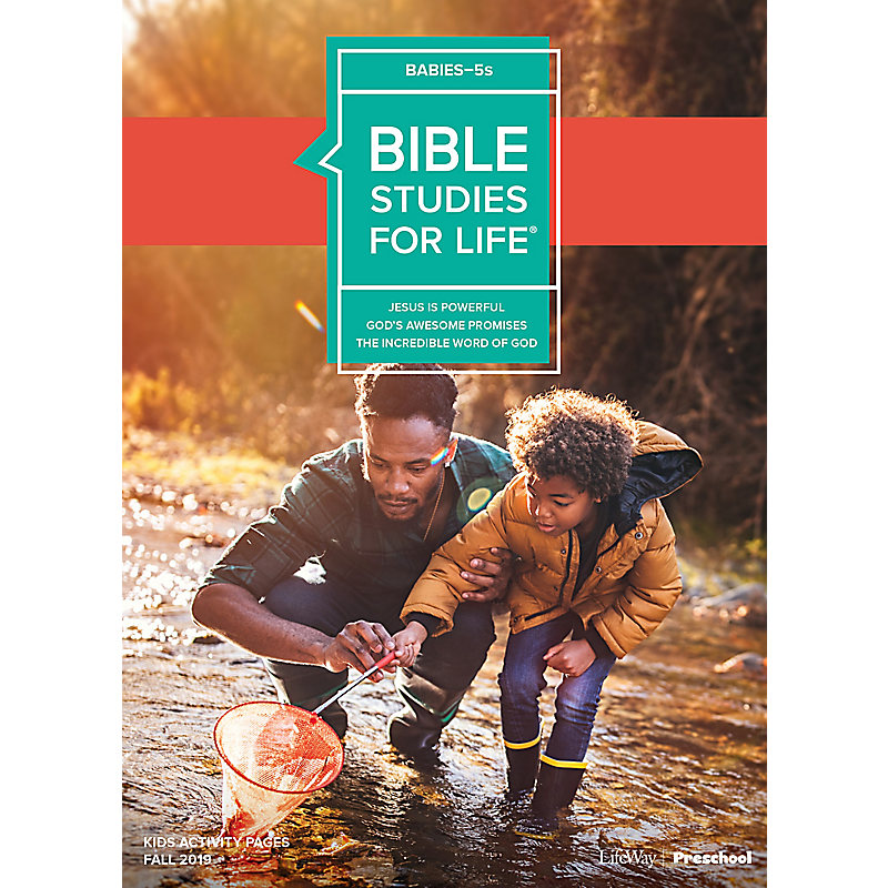 Bible Studies For Life: Babies-5s Activity Pages Fall 2019