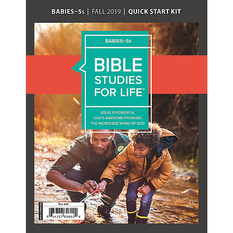 Bible Studies For Life: Babies-5s Quick Start Kit Fall 2019