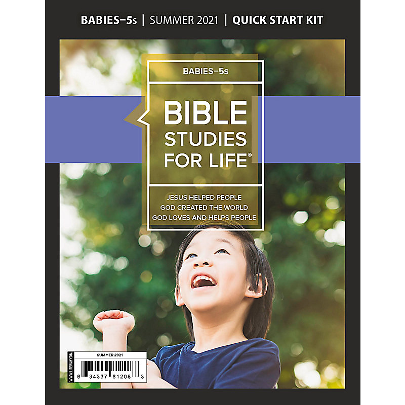 Bible Studies For Life: Babies-5s Quick Start Kit Summer 2021