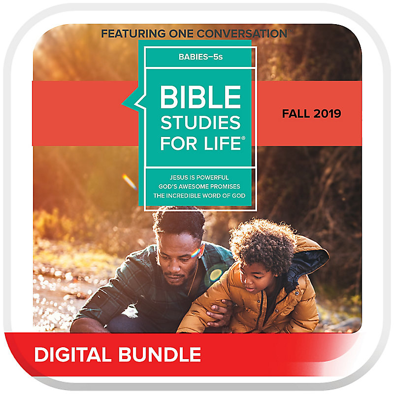 Bible Studies for Life: Babies-5s Leader Guide/Activity Pages Fall 2019