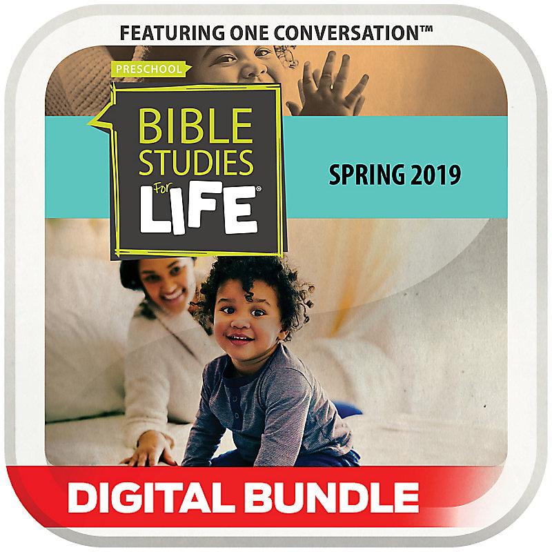 Bible Studies for Life: Babies-5s Leader Pack Digital Spring 2019