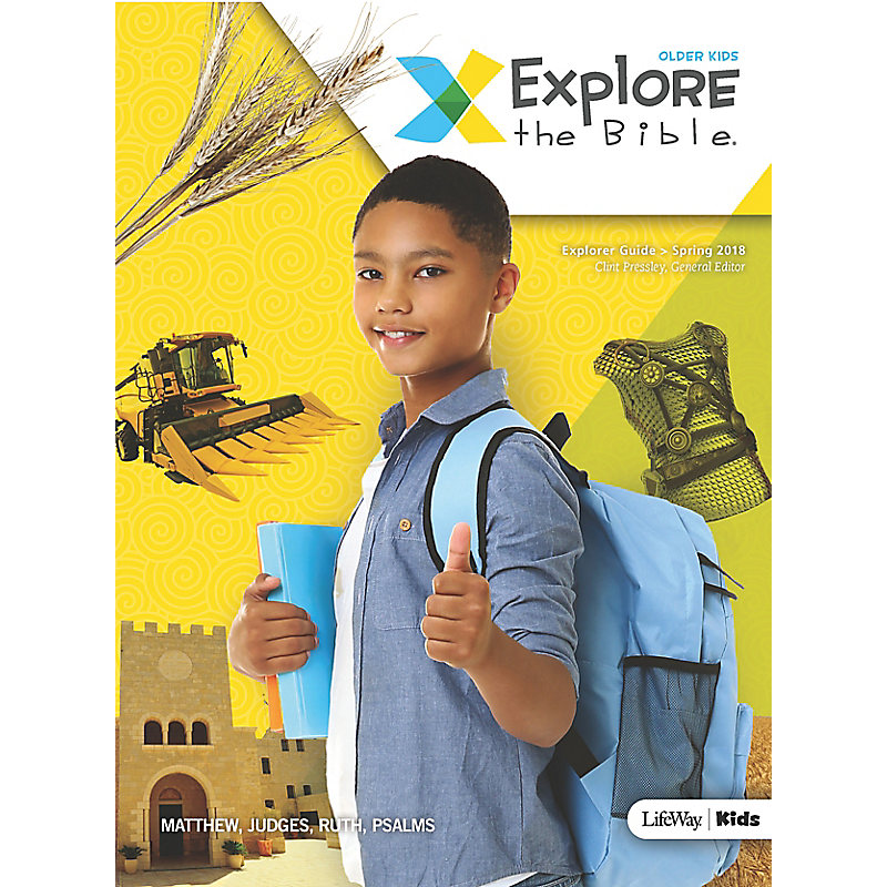 Explore the Bible: Older Kids Explorer Guide - Spring 2018