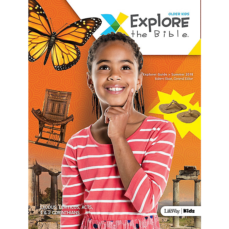 Explore the Bible: Older Kids Explorer Guide Summer 2018