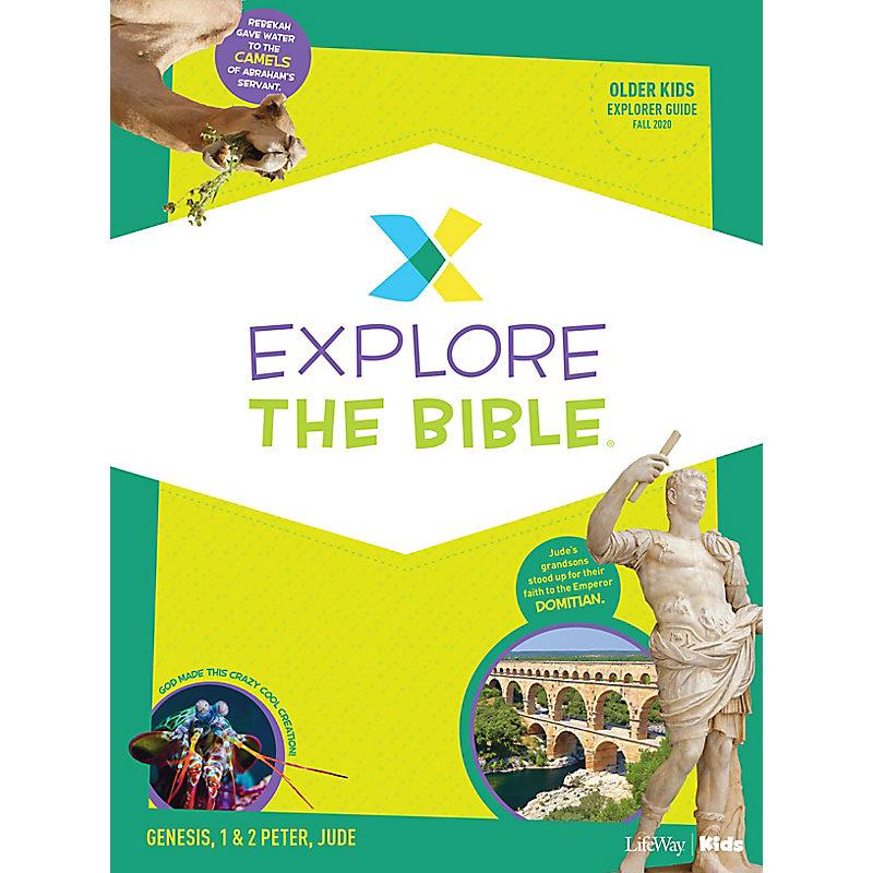 Explore the Bible: Older Kids Explorer Guide - Fall 2020