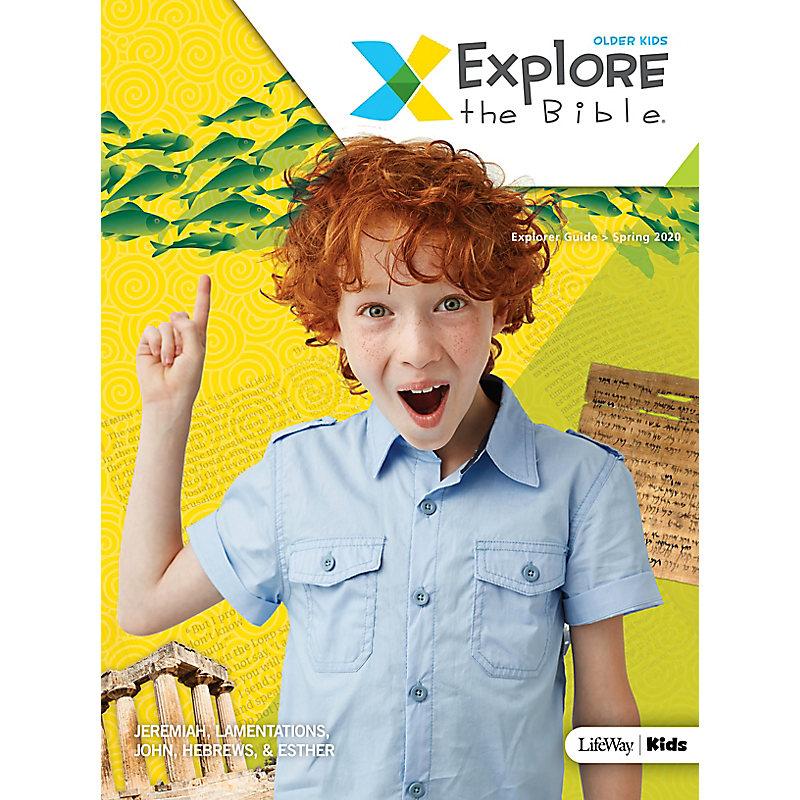 Explore the Bible: Older Kids Explorer Guide - Spring 2020