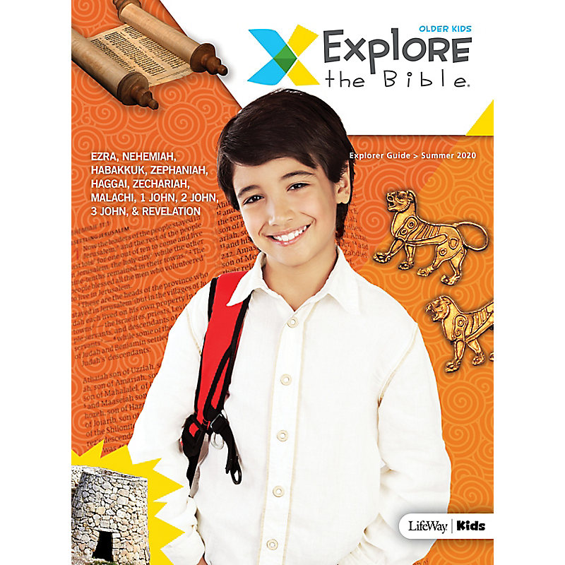 Explore the Bible: Older Kids Explorer Guide - Summer 2020