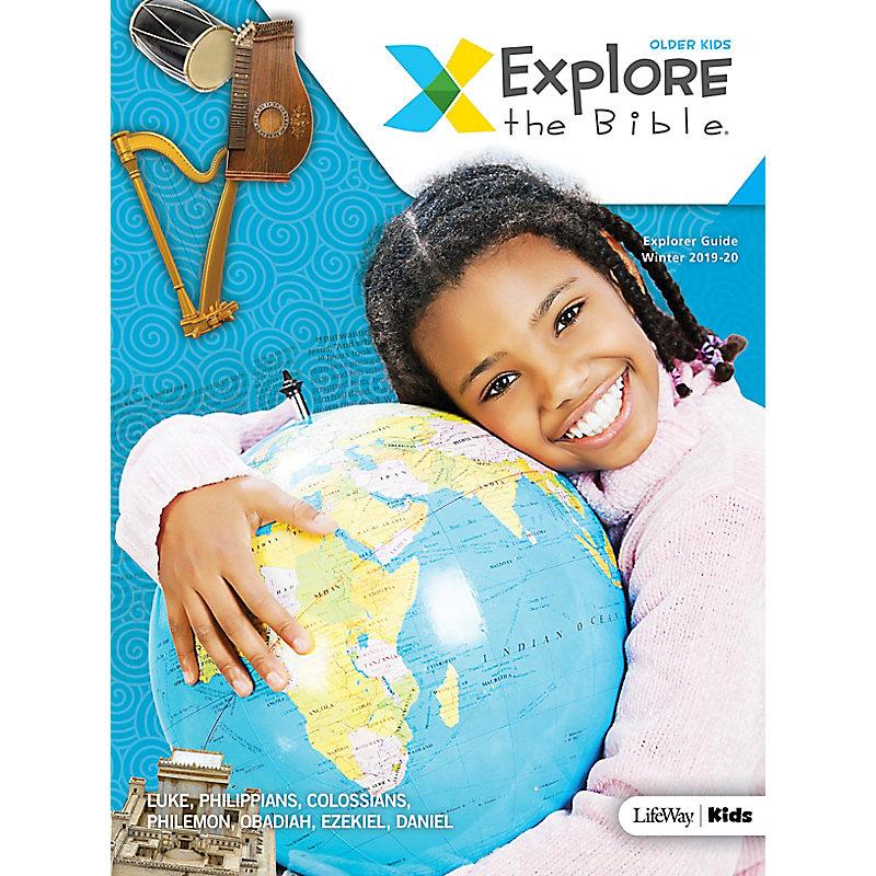 Explore the Bible: Older Kids Explorer Guide - Winter 2020