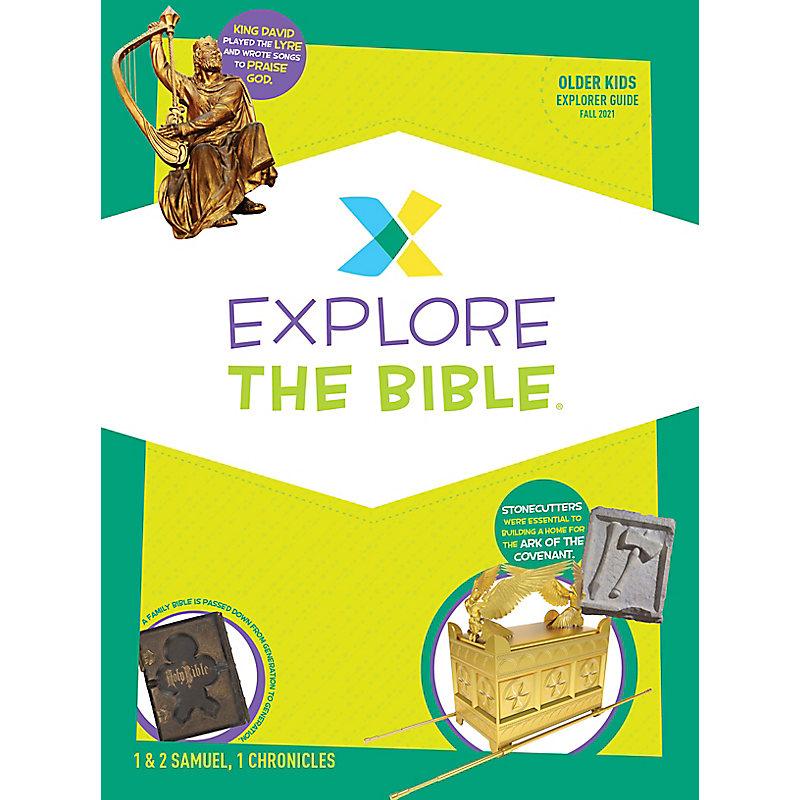 Explore the Bible: Older Kids Explorer Guide - Fall 2021