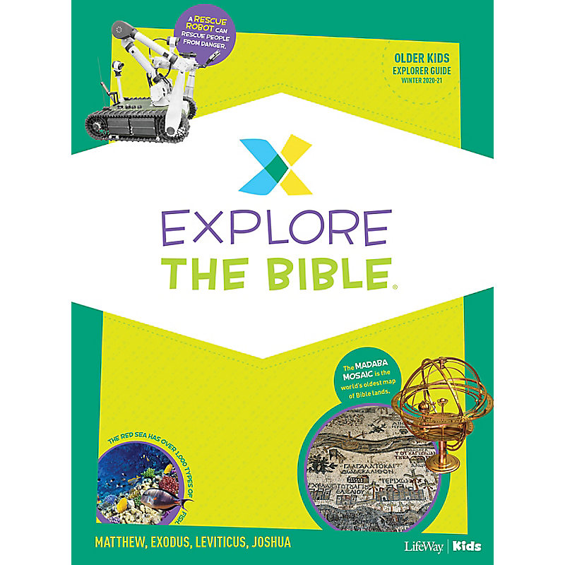 Explore the Bible: Older Kids Explorer Guide - Winter 2021