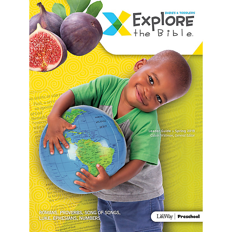 Explore the Bible: Babies & Toddlers Leader Guide - Spring 2019