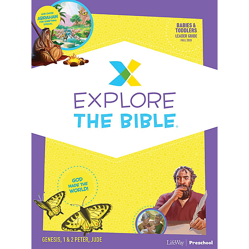 Explore the Bible: Babies and Toddlers Leader Guide - Fall 2020