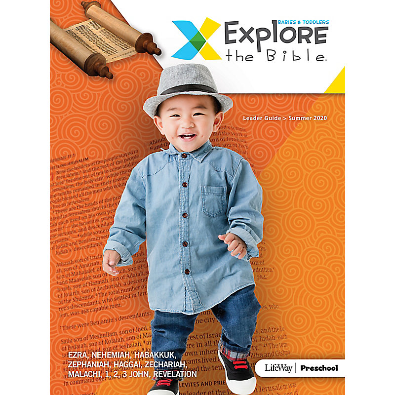 Explore the Bible: Babies & Toddlers Leader Guide - Summer 2020