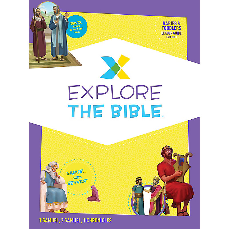 Explore the Bible: Babies & Toddlers Leader Guide - Fall 2021