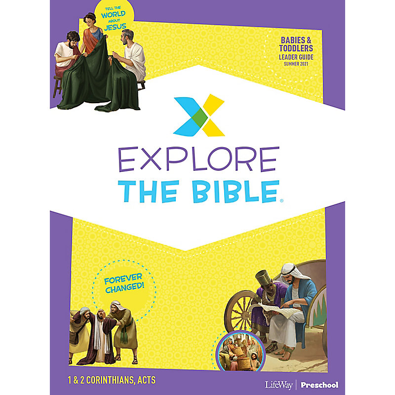 Explore the Bible: Babies & Toddlers Leader Guide - Summer 2021