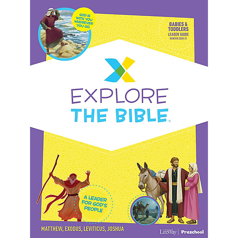 Explore the Bible: Babies and Toddlers Leader Guide - Winter 2021