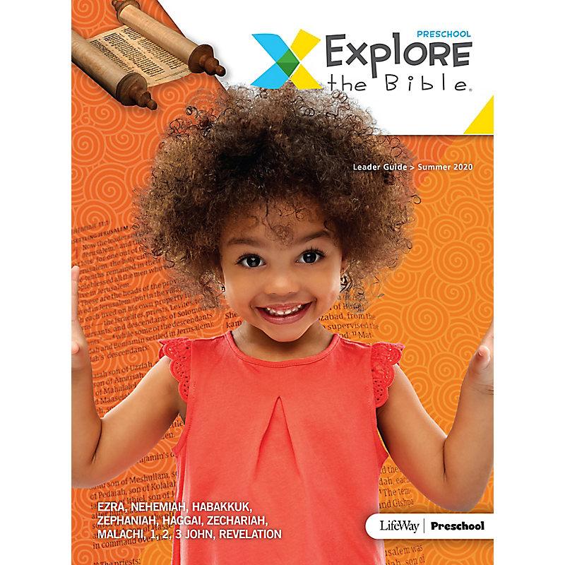Explore the Bible: Preschool Leader Guide - Summer 2020