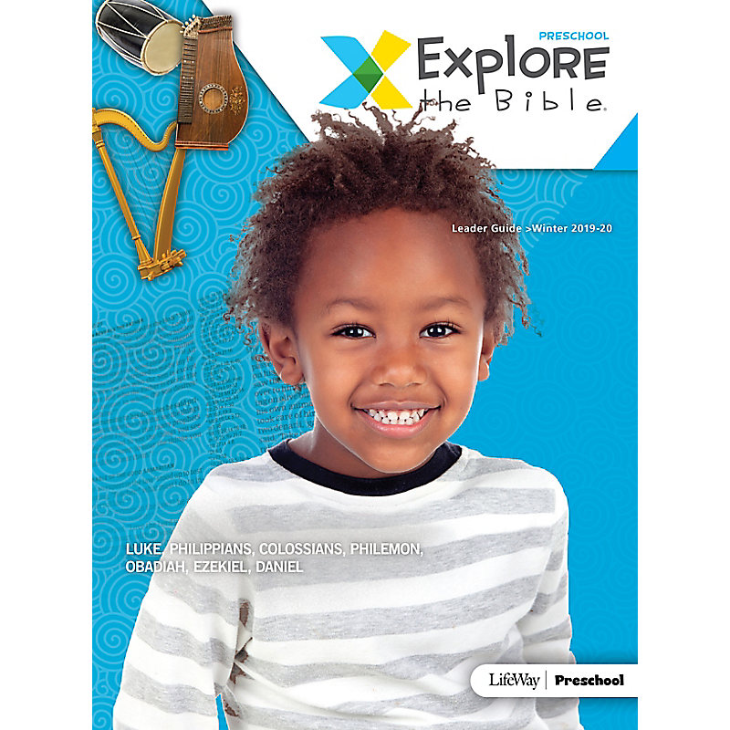 Explore the Bible: Preschool Leader Guide - Winter 2020