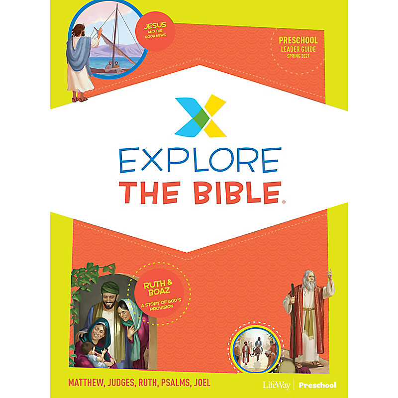 Explore the Bible: Preschool Leader Guide - Spring 2021