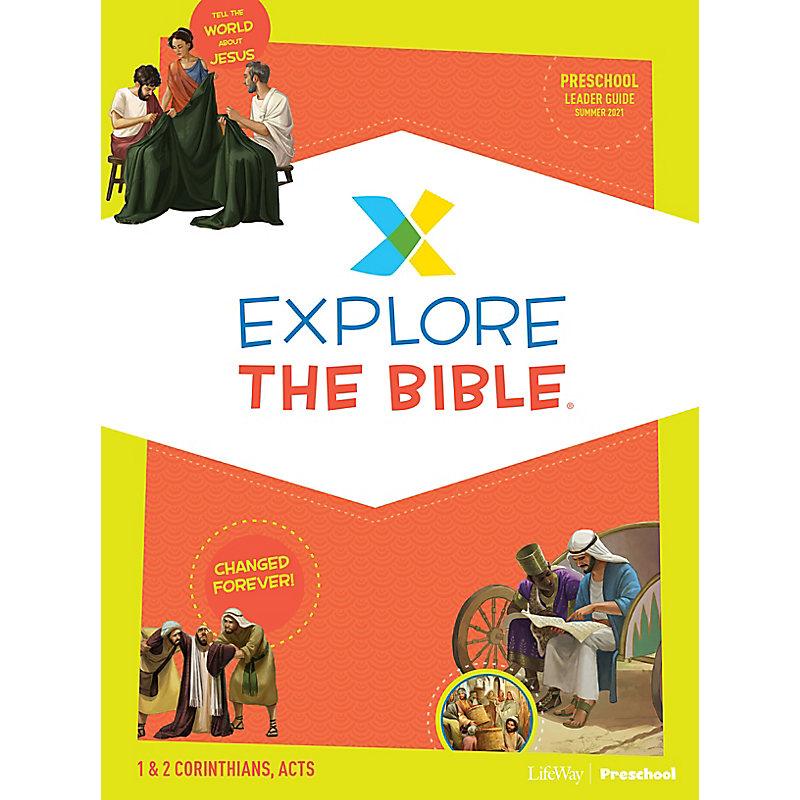 Explore the Bible: Preschool Leader Guide - Summer 2021