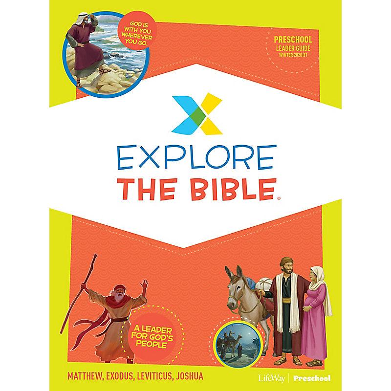Explore the Bible: Preschool Leader Guide - Winter 2021