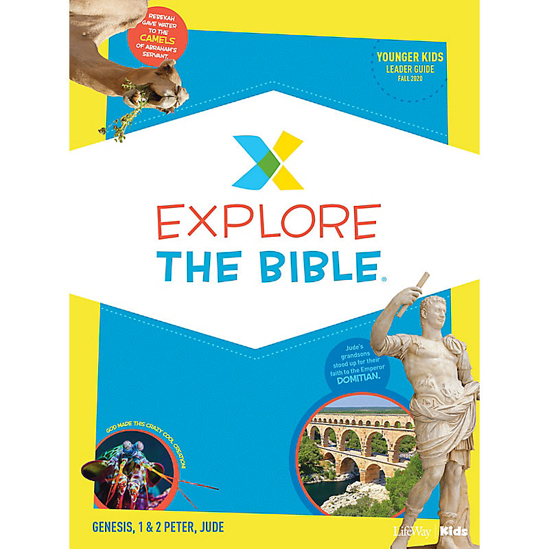 Explore the Bible: Younger Kids Leader Guide - Fall 2020