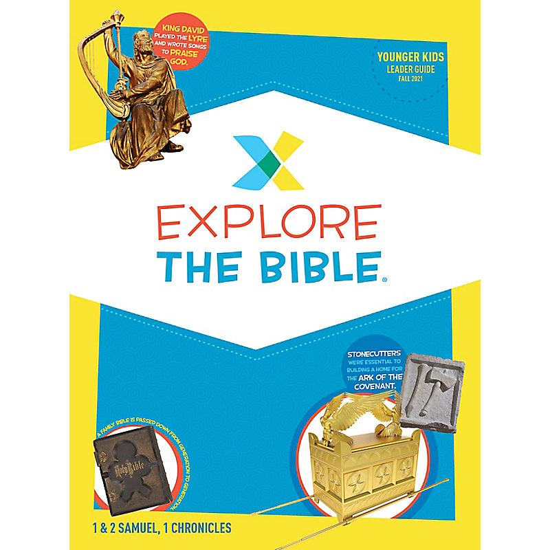 Explore the Bible: Younger Kids Leader Guide - Fall 2021