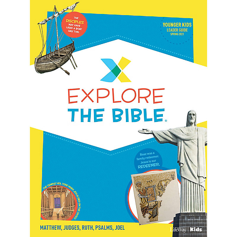 Explore the Bible: Younger Kids Leader Guide - Spring 2021