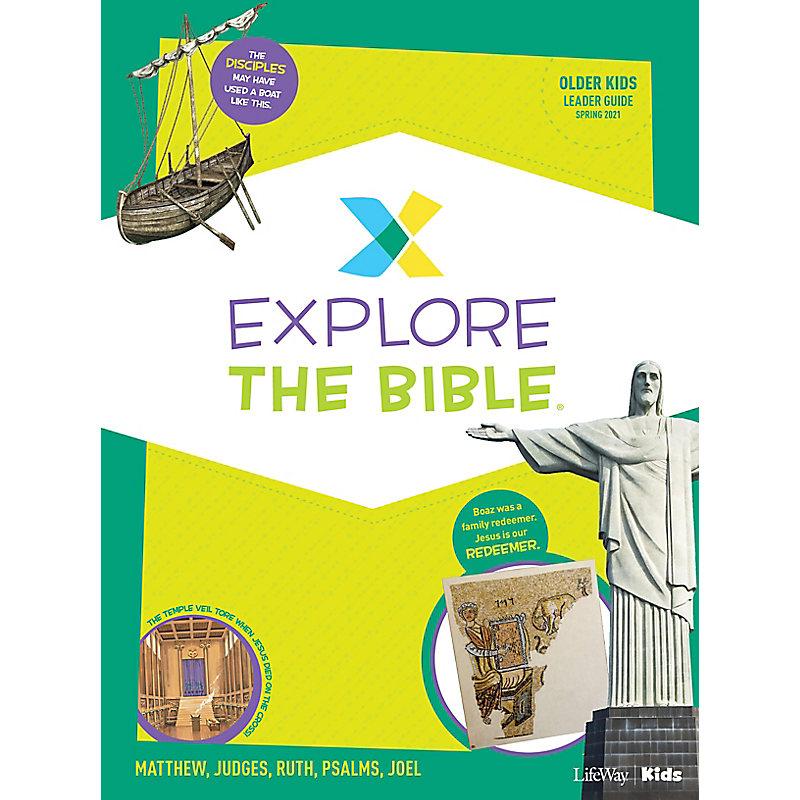 Explore the Bible: Older Kids Leader Guide - Spring 2021
