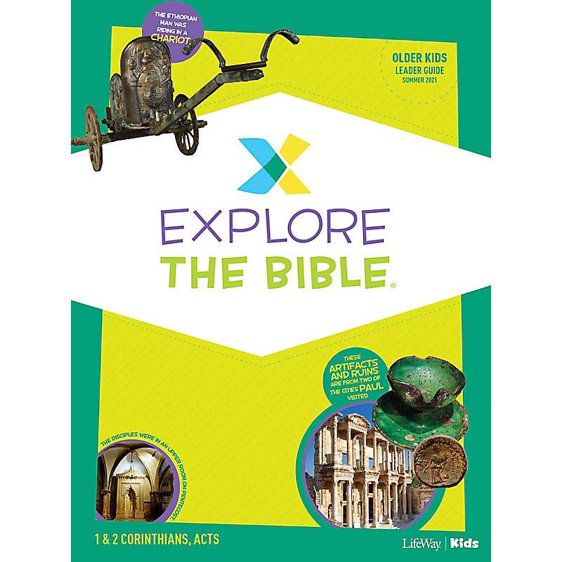 Explore the Bible: Older Kids Leader Guide - Summer 2021