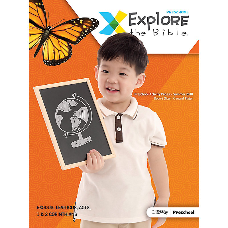 Explore the Bible: Preschool Activity Pages Summer 2018