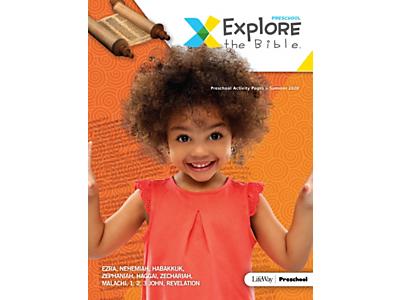Explore the Bible Kids Activity Pages