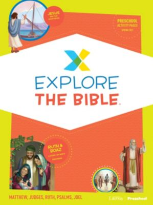 Explore the Bible Kids Activity Pages