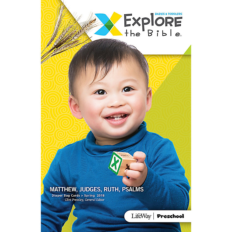 Explore the Bible: Diaper Bag Cards - Spring 2018