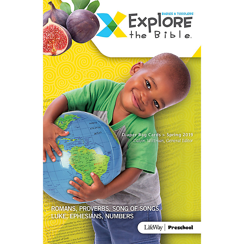 Explore the Bible: Diaper Bag Cards - Spring 2019