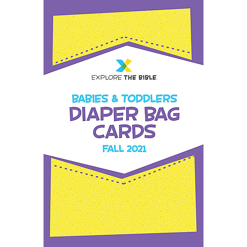 Explore the Bible: Diaper Bag Cards - Fall 2021