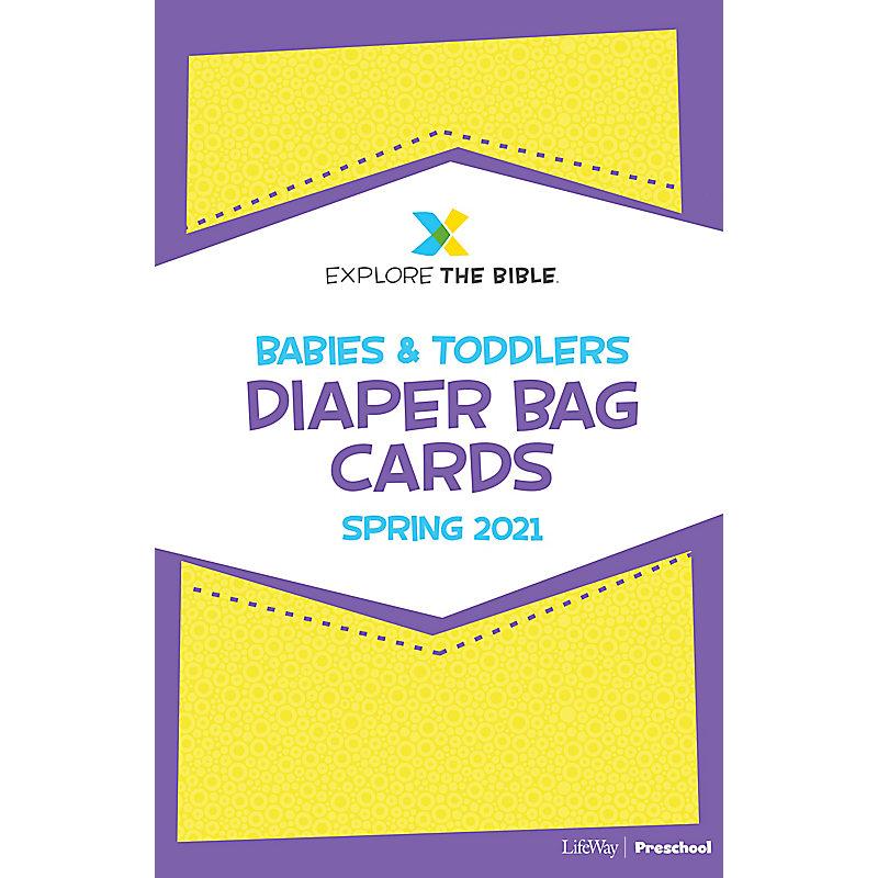 Explore the Bible: Diaper Bag Cards - Spring 2021