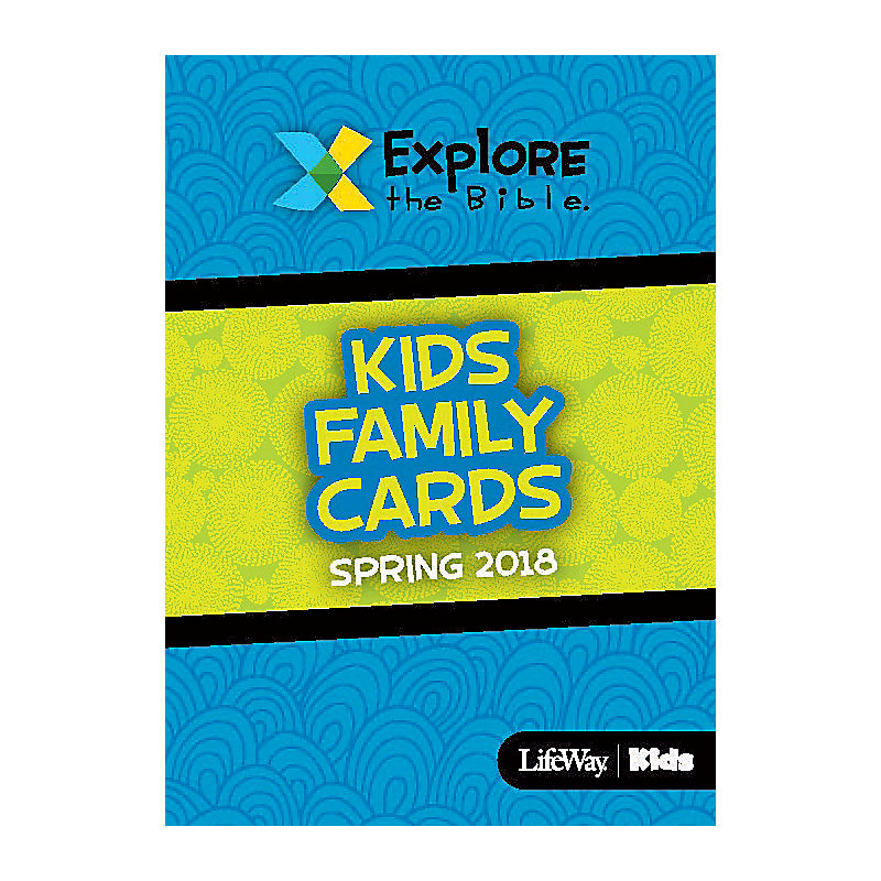 Explore the Bible: Kids Family Cards - Spring 2018