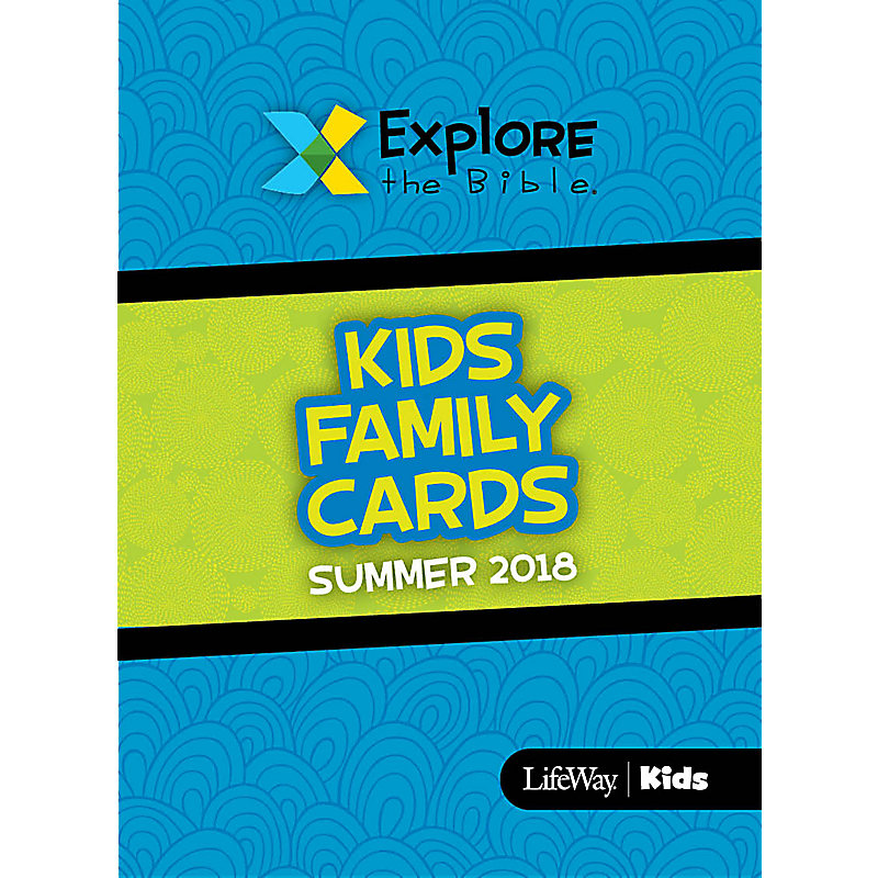 Explore the Bible: Kids Family Cards Summer 2018