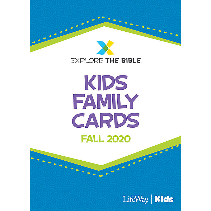 Explore the Bible: Kids Family Cards - Fall 2020