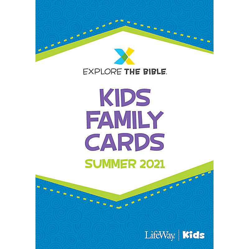 Explore the Bible: Kids Family Cards - Summer 2020