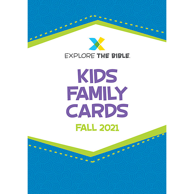 Explore the Bible: Kids Family Cards - Fall 2021