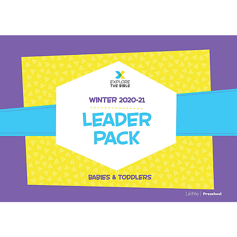 Explore the Bible: Babies and Toddlers Leader Pack - Winter 2021